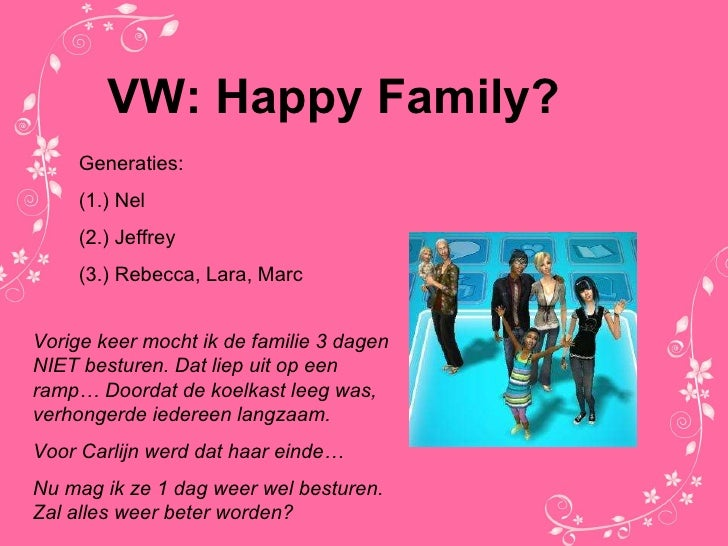 VW: Happy Family?