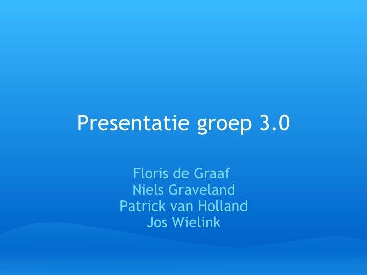 Presentatie groep 3