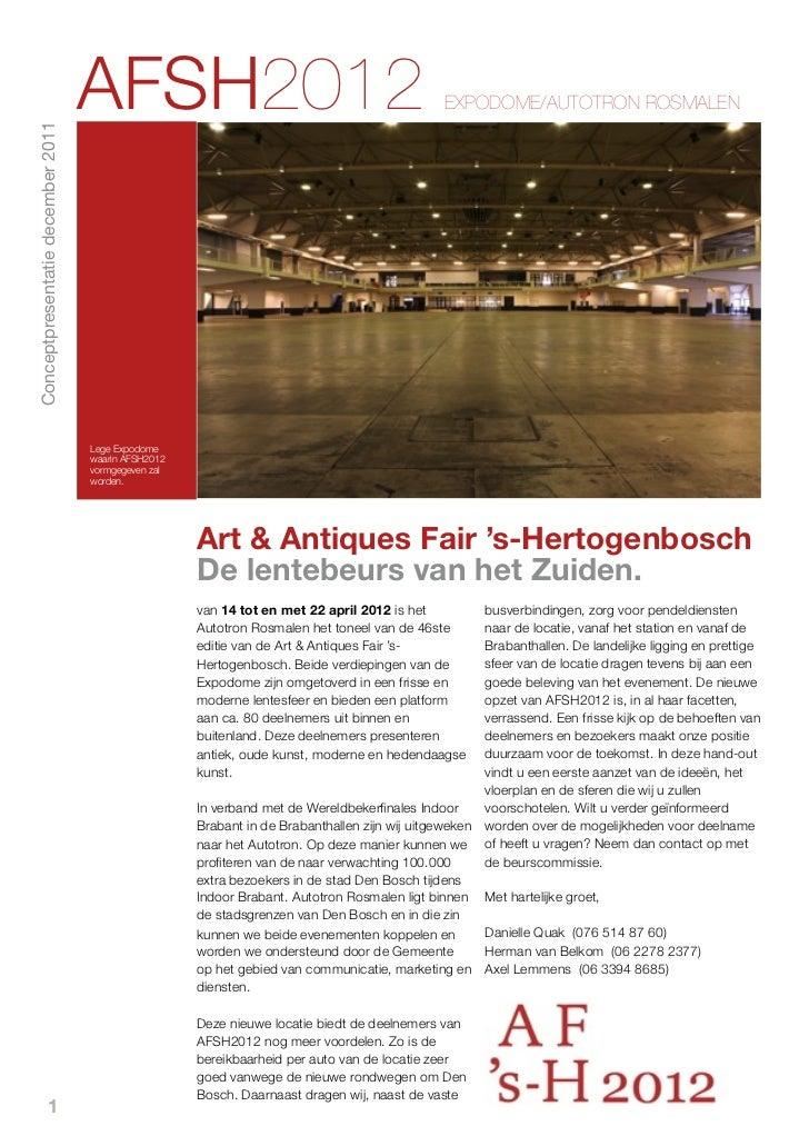 AFSH2012                                                    EXPODOME/AUTOTRON ROSMALENConceptpresentatie december 2011    ...