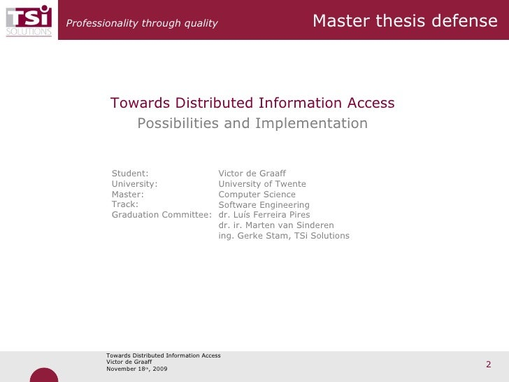 Master Thesis Data Transfer Security