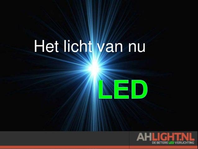 Presentatie AHLight.nl