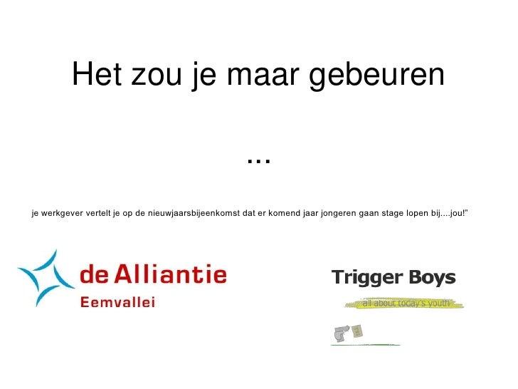 Presentatie Alliantie
