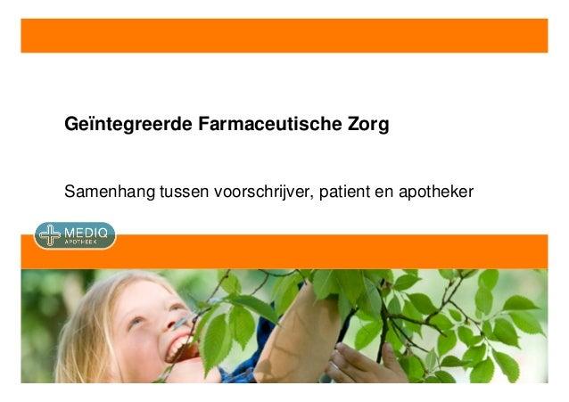 FEX | Zorg | 131009 | Samenhang zorg en welzijn | Presentatie | Anco van Marle