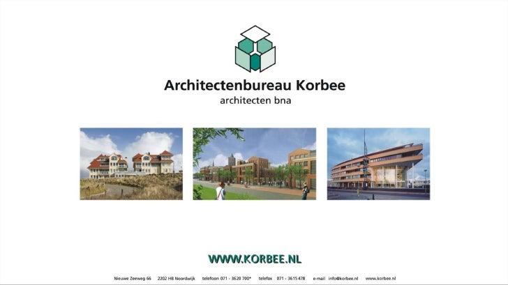 Presentatie Architectenbureau Korbee 1