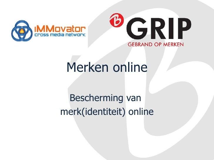 Workshop Juridische zaken en merkenrecht: B-Grip