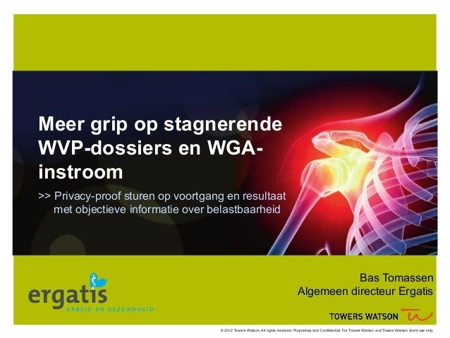 Meer grip op stagnerende WVP-dossiers en WGA-instroom