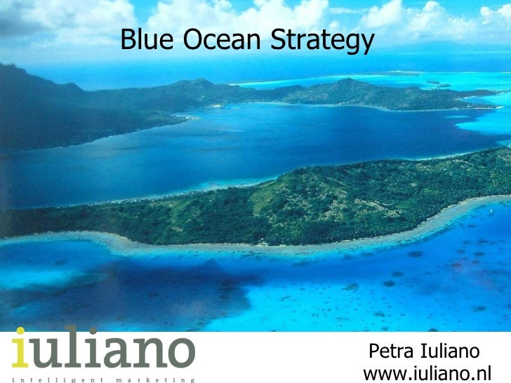 Blue Ocean Strategy 1e Nationale Kansdenkdag