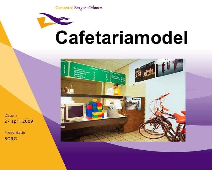Presentatie Cafetariamodel 2009 Buitendienst Definitief
