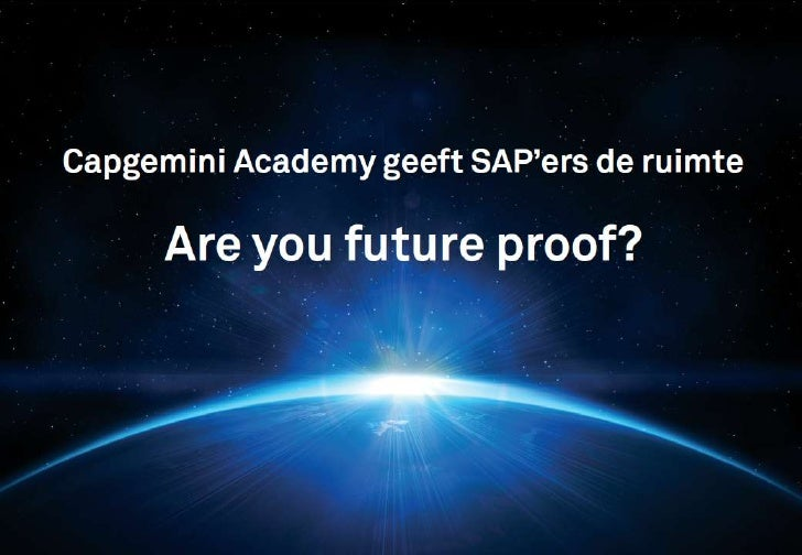 SAP NavigatorThe transition program that enables SAP consultants for their future rolesCapgemini Academy:Jeroen van EikHan...