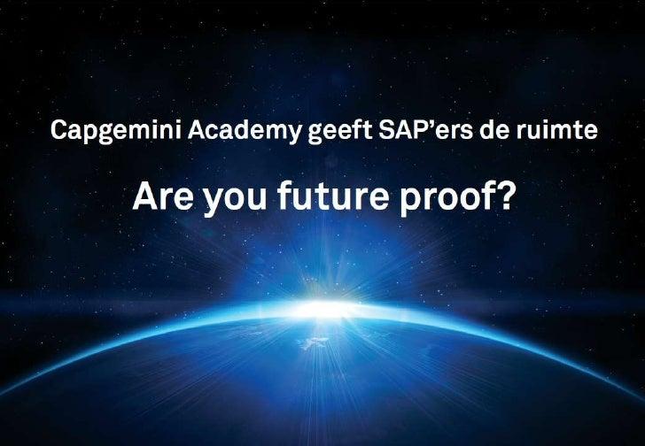 Presentatie capgemini academy v10 eng