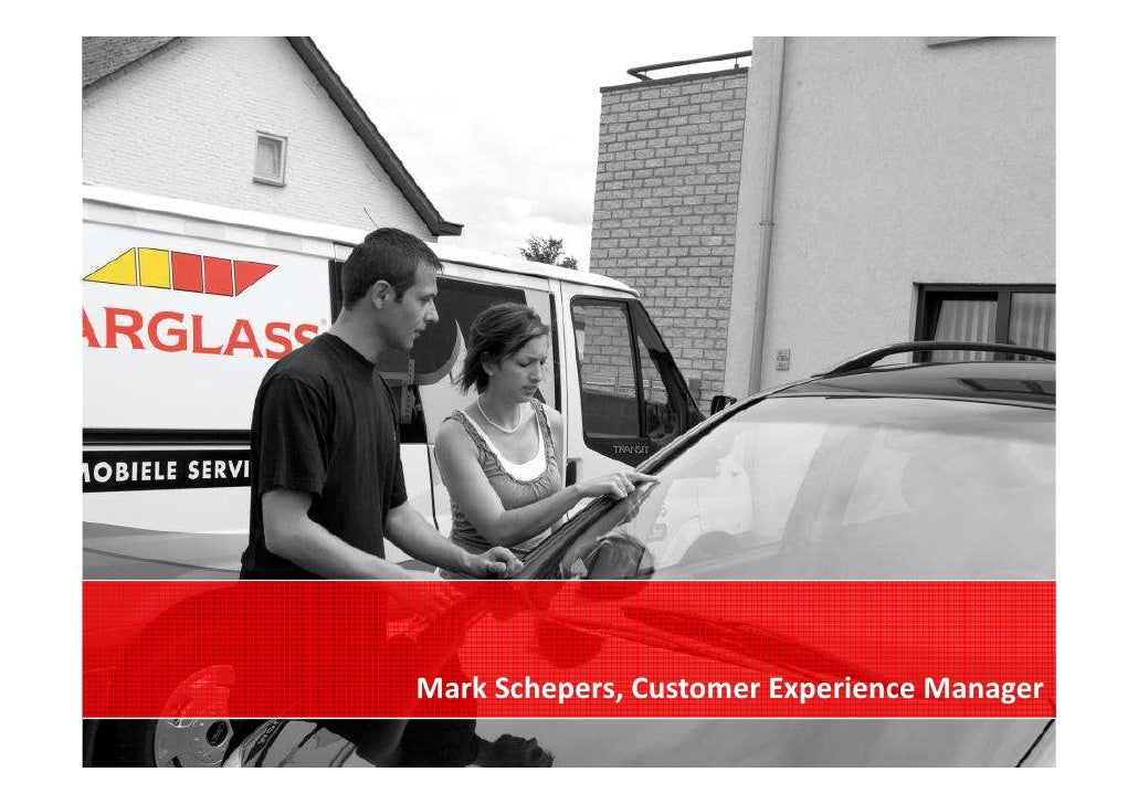 Mark Schepers, Customer Experience Manager                                        -1-
