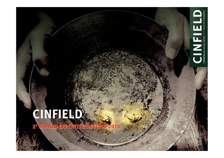 CINFIELD 2E SHARED EXPERTISE MEETING 2010