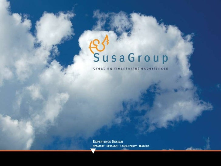 SusaGroup - creating meaningful experiences