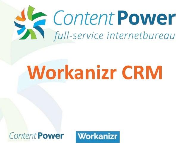 Workanizr CRM