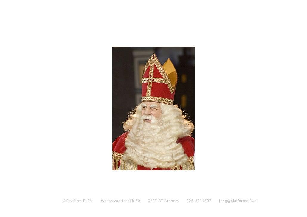 ©Platform ELFA   Westervoortsedijk 50   6827 AT Arnhem   026-3214607   jong@platformelfa.nl