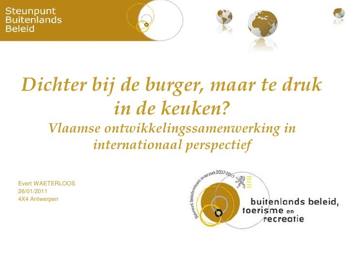 Presentatie Evert Waeterloos - 4x4 - 26 jan 2011