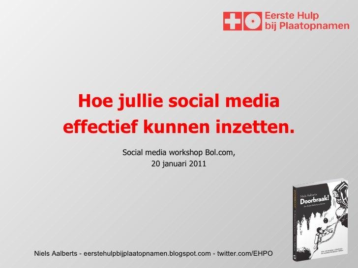 Presentatie ehpo bol.com 20 januari 2011