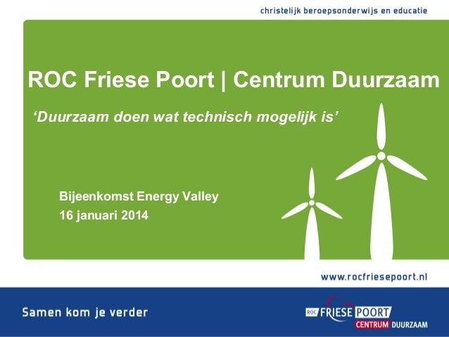 Energy Hotspot ROC Friese Poort | Centrum Duurzaam