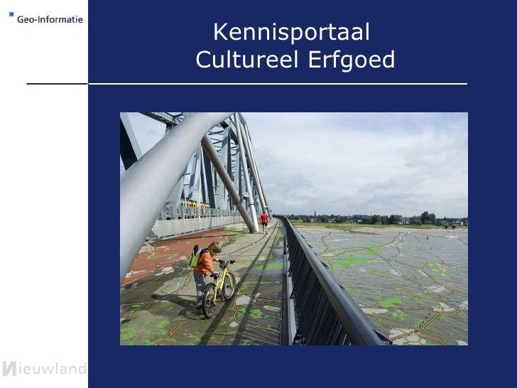 Kennisportaal  Cultureel Erfgoed