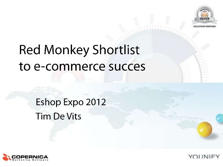 Red Monkey's shortlist for e-commerce success