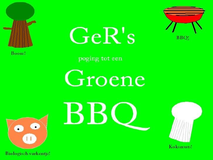 GeR BBQ