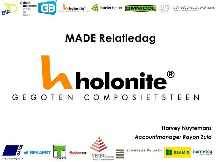 Presentatie Holonite