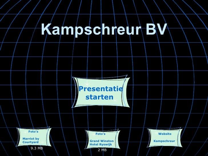 Presentatie Hotelinrichting