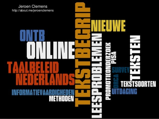 Online Tekstbegrip en de docent Nederlands in het VO