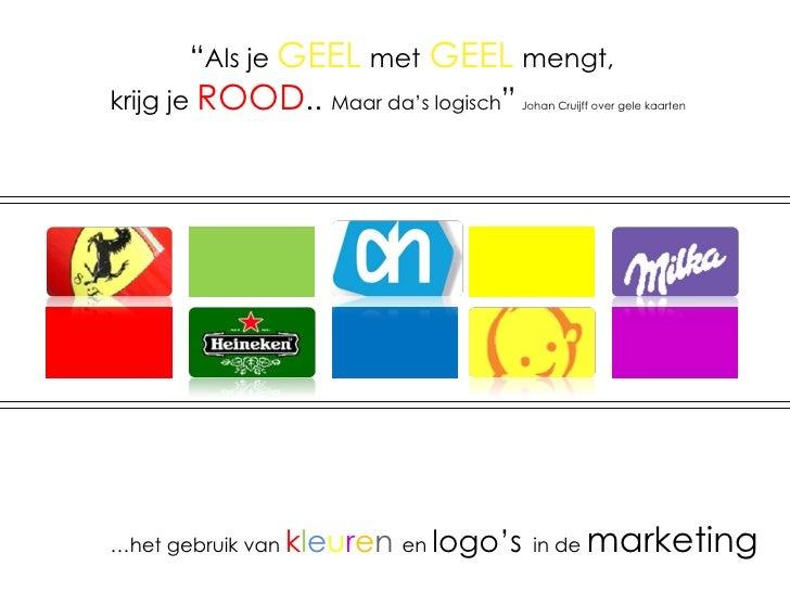 """"""" Als je  GEEL   met   GEEL   mengt,   krijg je  ROOD ..  Maar da's logisch """"   Johan Cruijff over gele kaarten … het gebr..."""