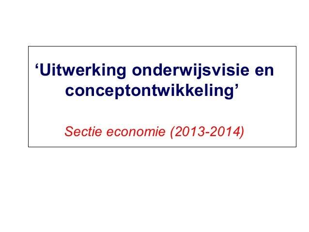 Presentatie IiP | sectie economie