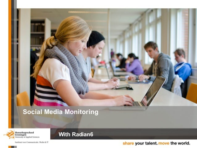 Social Media Monitoring With Radian6