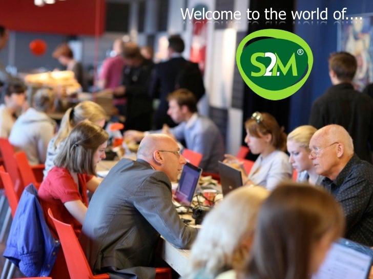 Presentatie introduction to S2M voor Talk & Taste (Marielle Sijgers)