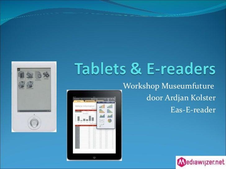 Presentatie involve   eas-e-reader