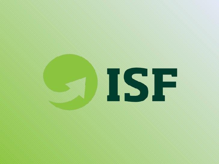 Presentatie International Sustainability Forum
