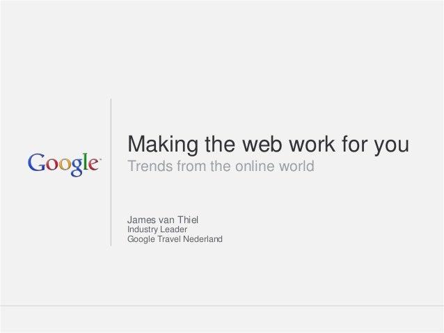 Google Travel - TravelNext Congres 2012