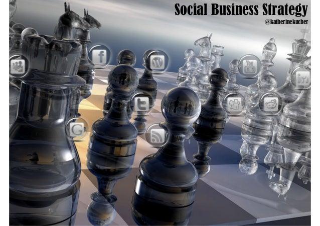 Social Business Strategy                @katherinekucher