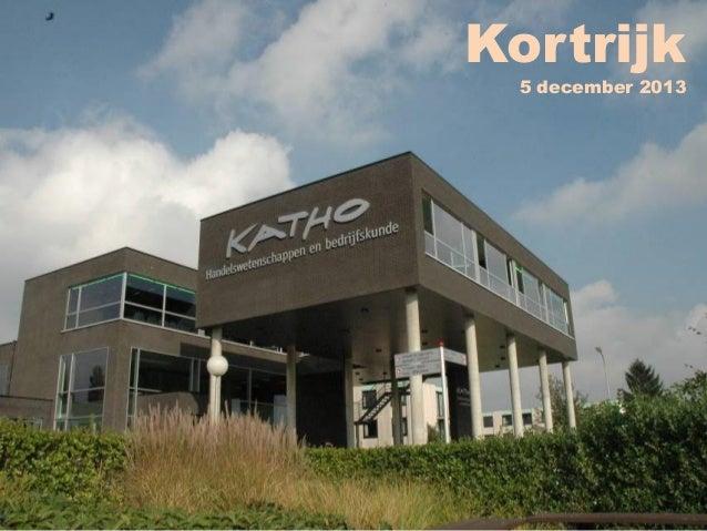 Kortrijk  5 december 2013