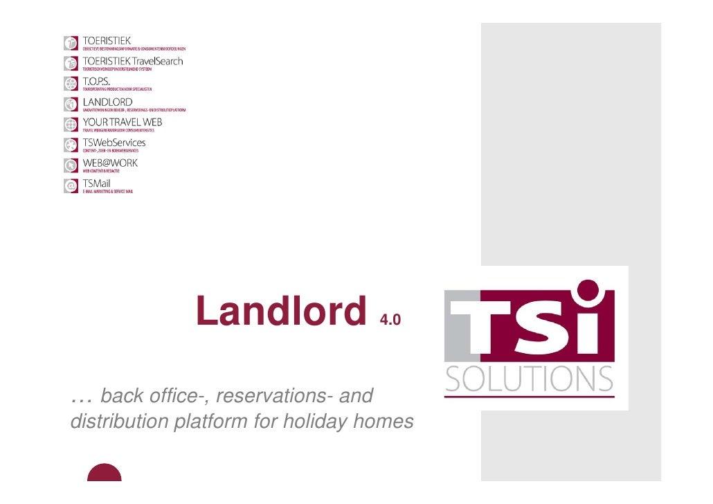 Presentatie Landlord