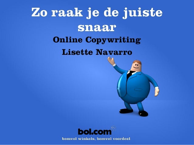 bol.com Partner Event 2013 - Lisette Navarro