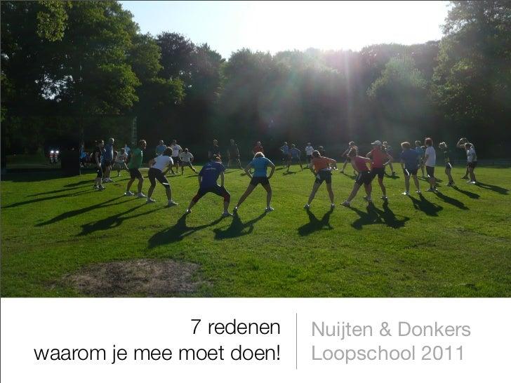 Nuijten & Donkers Loopschool 2011