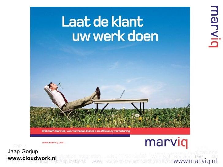 Jaap Gorjup www.cloudwork.nl