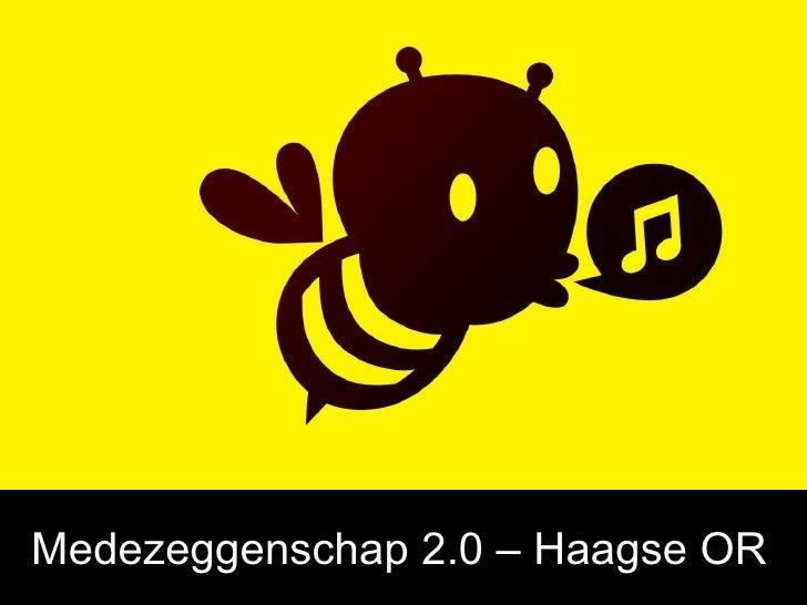 Medezeggenschap 2.0 – Haagse OR