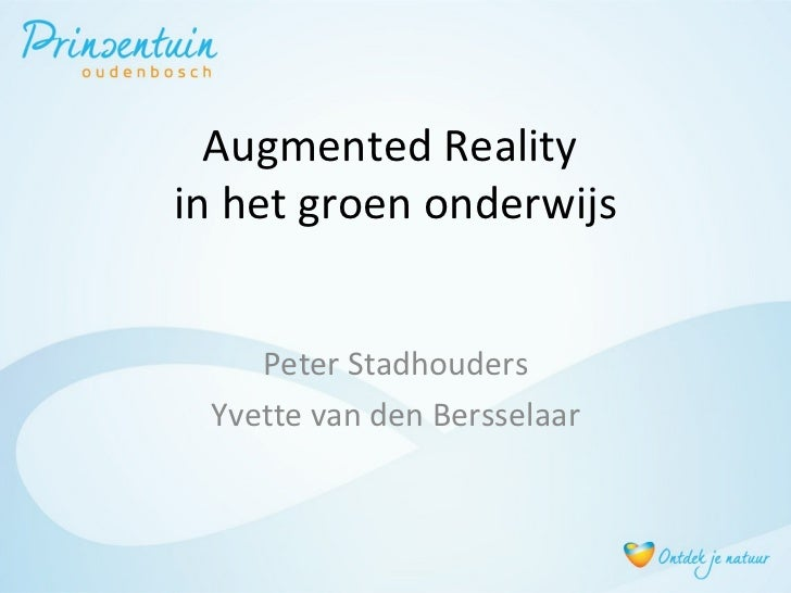 Presentatie e-learning event 2012