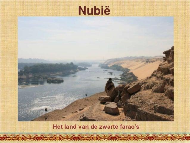 Presentatie Nubië; het land van de zwarte farao's