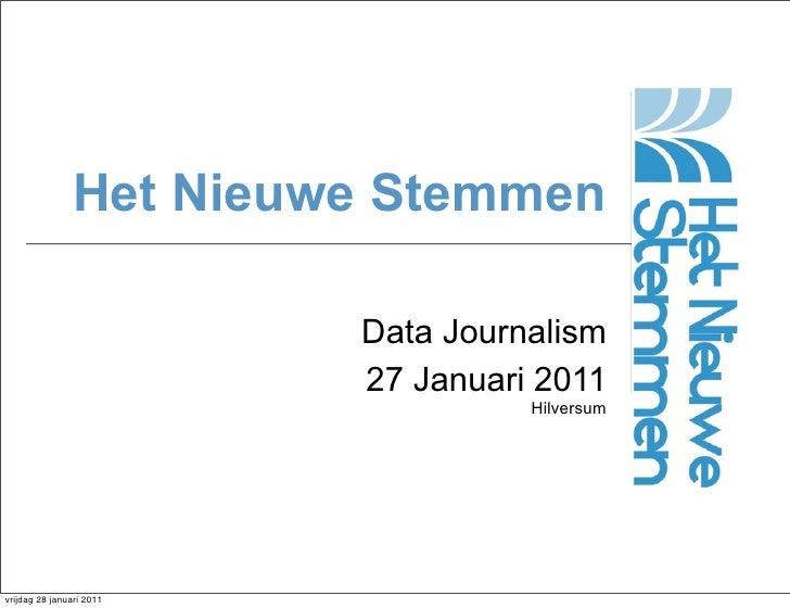 Presentatie Social media & transparantie