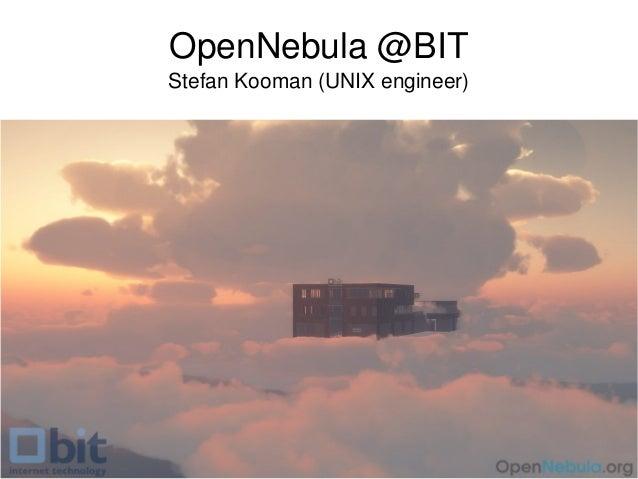 OpenNebula at BIT.nl