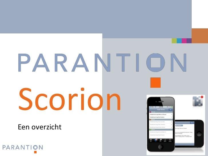 www.parantion.nlScorionEen overzicht                        1