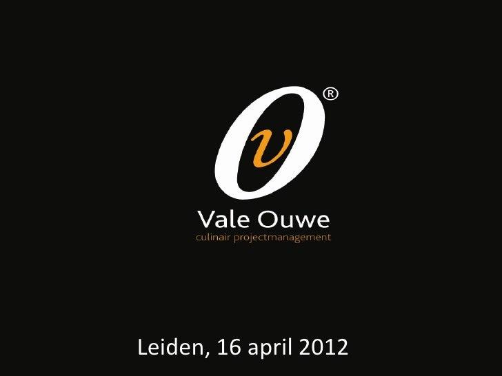 Leiden, 16 april 2012