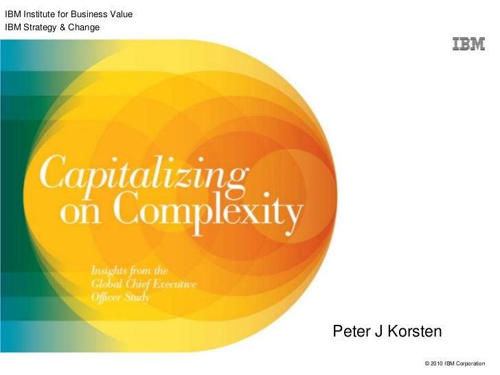 Peter Korsten, IBM: Creatief Leiderschap 28 april 2011
