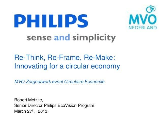 Philips - MVO Netwerk Zorg